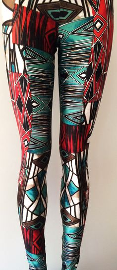 Soul Trend Womens Leggings/Tights/Printed Nylon by SoulTrend