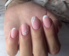 The advantage of the gel is that it allows you to enjoy your French manicure for a long time. There are four different ways to make a French manicure on gel nails. Love Nails, Pretty Nails, Classic Nails, Wedding Nails Design, Bride Nails, French Tip Nails, Gel Nail Designs, Artificial Nails, Stylish Nails