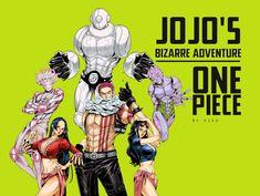 One Piece Manga, One Piece Meme, One Piece Fanart, Best Crossover, Anime Crossover, Anime One, Manga Anime, One Piece Deviantart, Jojo Stands