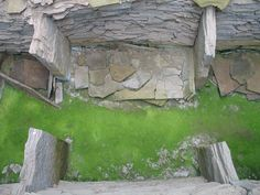 Individual Compartment Viewed from Walkway, Midhowe Chambered Cairn, Rousay, Orkney, Scotland (J. Demetrescu 2007)