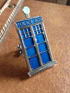 FREE US SHIPPING Dr Who inspired large Tardis by TessaUniverse, $12.00