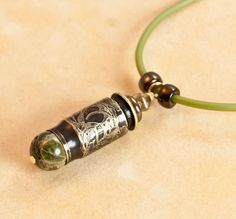 Hey, I found this really awesome Etsy listing at https://www.etsy.com/listing/165627467/ivy-bullet-necklace-bullet-pendant