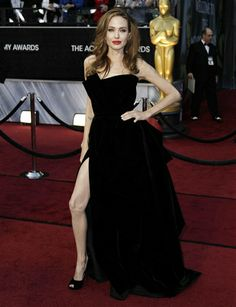 The year was 2012. The event was the Academy Awards. The dress was Atelier Versace. And the leg was all Angelina Jolie. It was a stunt that will be remembered for the ages.