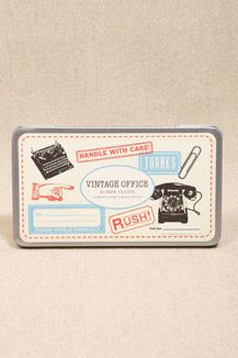 Vintage Office Rubber Stamps