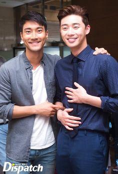 Park Seo Joon и Чхве Ши Вон 최시원 Choi Si Won