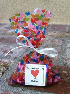 valentines day goodie bag - Valentines Goodie Bags