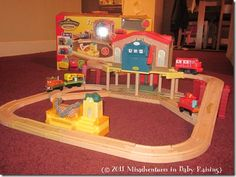 Chuggington Wooden Railway!