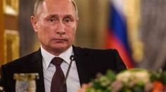 Image copyright                  AFP                  Image caption                                      Mr Putin was due to visit Paris later this month                                Russia's President Vladimir Putin has postponed a planned visit to France amid a row over Syria, French presidential sources say. Mr Putin had been due to go to Paris on 19 O