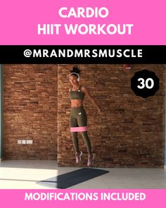 Workout Challenge Discover Resistance Band Workout - Cardio Add this intense full body exercise with resistance bands to your HIIT workout routine to lose weight and burn calories. Workout Cardio, Power Workout, Hiit Workout Routine, Power Yoga, Full Body Hiit Workout, Gym Workout Videos, Cardio Training, Gym Workouts, At Home Workouts