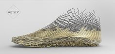 New Zealand Based Designer's XYZ Shoe Mixes 3D Printing Traditional Materials
