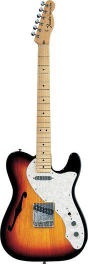 Fender Classic 69 Tele Thinline 3-Colour Sunburst