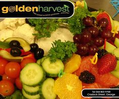 Are you struggling to get your kids and teens to eat more fruits and veggies? Be creative in how you prepare and serve fruit and vegetables - such as raw, sliced, grated, microwaved, mashed or baked. Serve different coloured fruit and veggies or use different serving plates or bowls. Stock up on your daily fruits and veggies from #GoldenHarvest. #TuesdayTip
