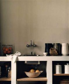 kitchen, pared down
