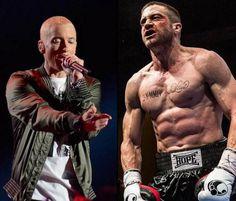 Southpaw : Eminem composera la BO du film de boxe avec Jake Gyllenhaal http://www.premiere.fr/Cinema/News-Cinema/Southpaw-Eminem-composera-la-BO-du-film-de-boxe-avec-Jake-Gyllenhaal-4183386…