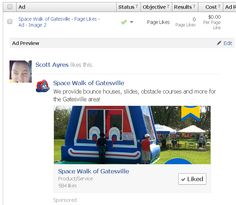 facebook ads examples - Google Search Best Facebook, Obstacle Course, Things That Bounce, Ads, Google Search, Image