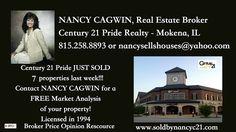 W/E 2-4-17 JUST SOLD at #Century21Pride, Call Nancy Cagwin at 815-258-8893 www.soldbynancyc21.com