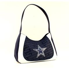 ONE DALLAS COWBOYS, CURVE HOBO SWAG PURSE FROM LITTLE EARTH #LittleEarth #DallasCowboys