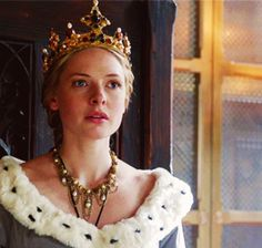 Rebecca Ferguson as Queen Elizabeth