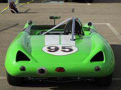 Don Munoz's 1962 Lotus 23B Race Car, Number 95