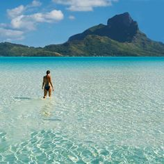 Bora-Bora, French Polynesia - 2012 Trip Advisor Best Destinations in the World - Vacation Places, Vacation Destinations, Dream Vacations, Vacation Spots, Places To Travel, Oh The Places You'll Go, Places To Visit, Bora Bora French Polynesia, Exploration