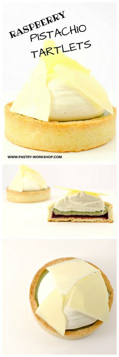 Raspberry Pistachio Tartlets - for every pistachio lover out there!