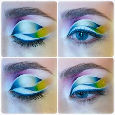Aqua make up-my work