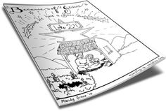 Christmas Coloring Page for Kids http://www.childrens-ministry-deals.com/products/christmas-coloring-pages
