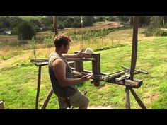 How to turn a bowl on the pole lathe with Ben Orford (Part 2)