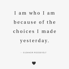 ♥ Make wise choices ...