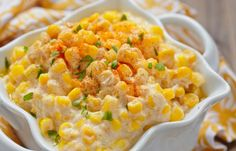 Slow Cooker Mexican Creamed Corn - Delicious! www.GetCrocked.com