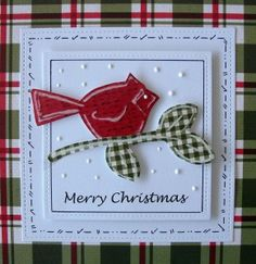 Donna Lane's Christmas Robin L.I. Template #L9769