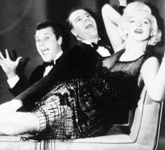 Tony Curtis, Jack Lemmon and Marilyn Monroe, Some Like It Hot.