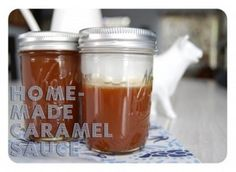 Do you love caramel sauce? Maybe you enjoy it so much that you want to make some caramel sauce of your own. Check out this recipe!