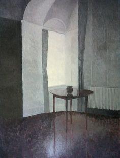 Vilhelm Hammershøi (1864-1916 Danish) • Interior -