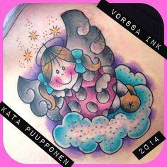 https://www.facebook.com/VorssaInk, http://tattoosbykata.blogspot.fi, #tattoo #tatuointi #katapuupponen #vorssaink #forssa #finland #traditionaltattoo #suomi #oldschool #pin up #angel