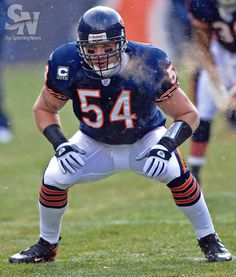 Sporting News Archive: URLACHER RETIRES Chicago Bears Brian Urlacher at...