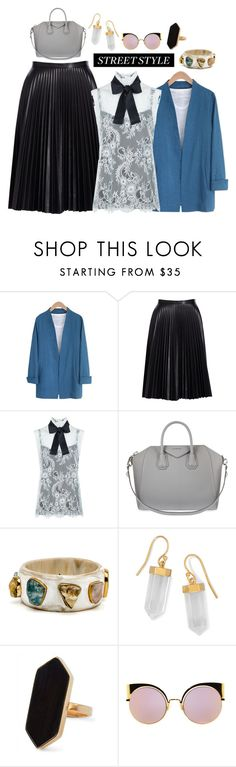 """""""NYFW Street"""" by sarelle-20 ❤ liked on Polyvore featuring Cusp by Neiman Marcus, Philosophy di Lorenzo Serafini, Givenchy, BillyTheTree, Jaeger, Fendi, StreetStyle and NYFW"""