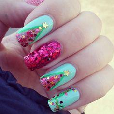 christmas by najlepsinoktii #nail #nails #nailart
