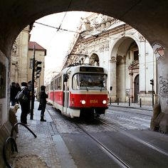 Prague by Peter Gutierrez, via Flickr.:: I miss the trams I rode every day.