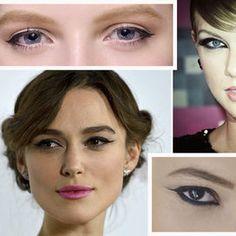 Eyeliner in base a forma occhi - Trucco   Donna Moderna