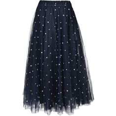 Long Tulle Skirt From Parosh: Blue Long Tulle Skirt With Elasticated... (1.310 RON) ❤ liked on Polyvore featuring skirts, fantasia, elastic waist skirt, blue skirt, elastic waistband skirt, long straight skirts and long tulle skirt