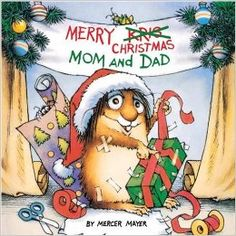 Merry Christmas, Mom And Dad (Little Critter) : Mercer Mayer : 9780307118868 Christmas Books For Kids, Childrens Christmas, Christmas Mom, Christmas Pictures, Childrens Books, Christmas Lights, 1980s Christmas, Amazon Christmas, Holiday Images