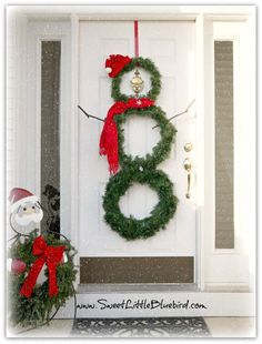 These cheerful designs will make any door sparkle.