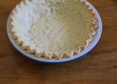 This gluten-free pie dough is easy to make and delicious.  Well, as easy as gluten free pie dough can be, I suppose.  I needed to add the full amount of water, plus some more.  The (apple) pie ultimately baked for 10-15 minutes longer than recommended.