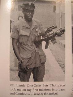Ben Thompson RT Illinois, MACV-SOG ~ Vietnam War
