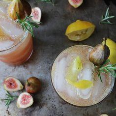 fig + lemon fizz