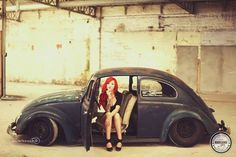 Vw Beetle - Volkswagen and a Ginger!