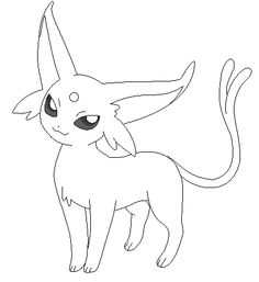 espeon coloring pages - Google Search