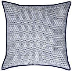 Block print pillow