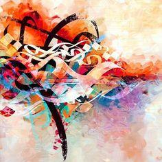 Blend #art #calligraphy #arabic_calligraphy #artoftheday #colors #mode #mydubai #dubaimall #worldofartists #magic #maherhousn #mystyle #Mozaiicartgallery